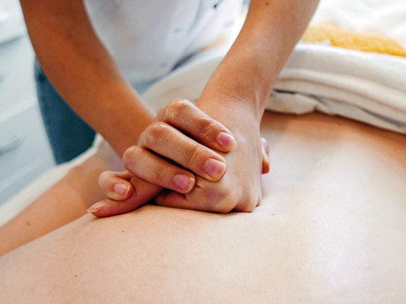 Entspannungsmassage - Massagearten