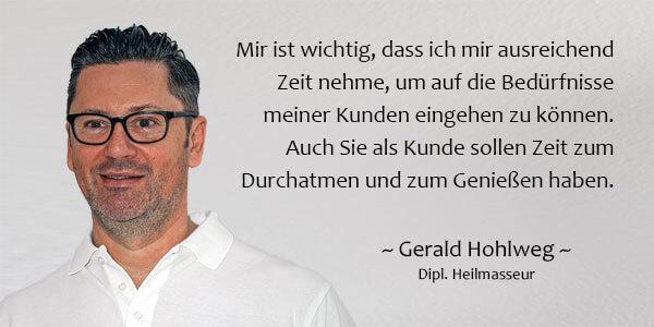 Unsere Philosophie bei Physiotherapie Körperschwung - Gerald Hohlweg